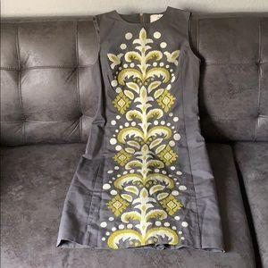 Embroidered TABITHA Sheath Dress